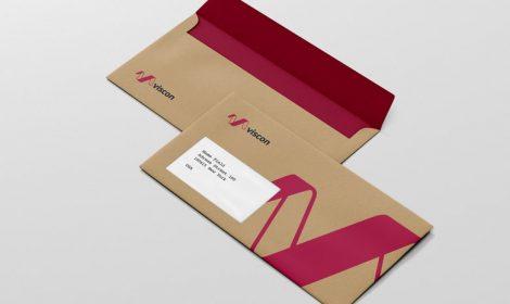 Envelope com Janelas Personalizado